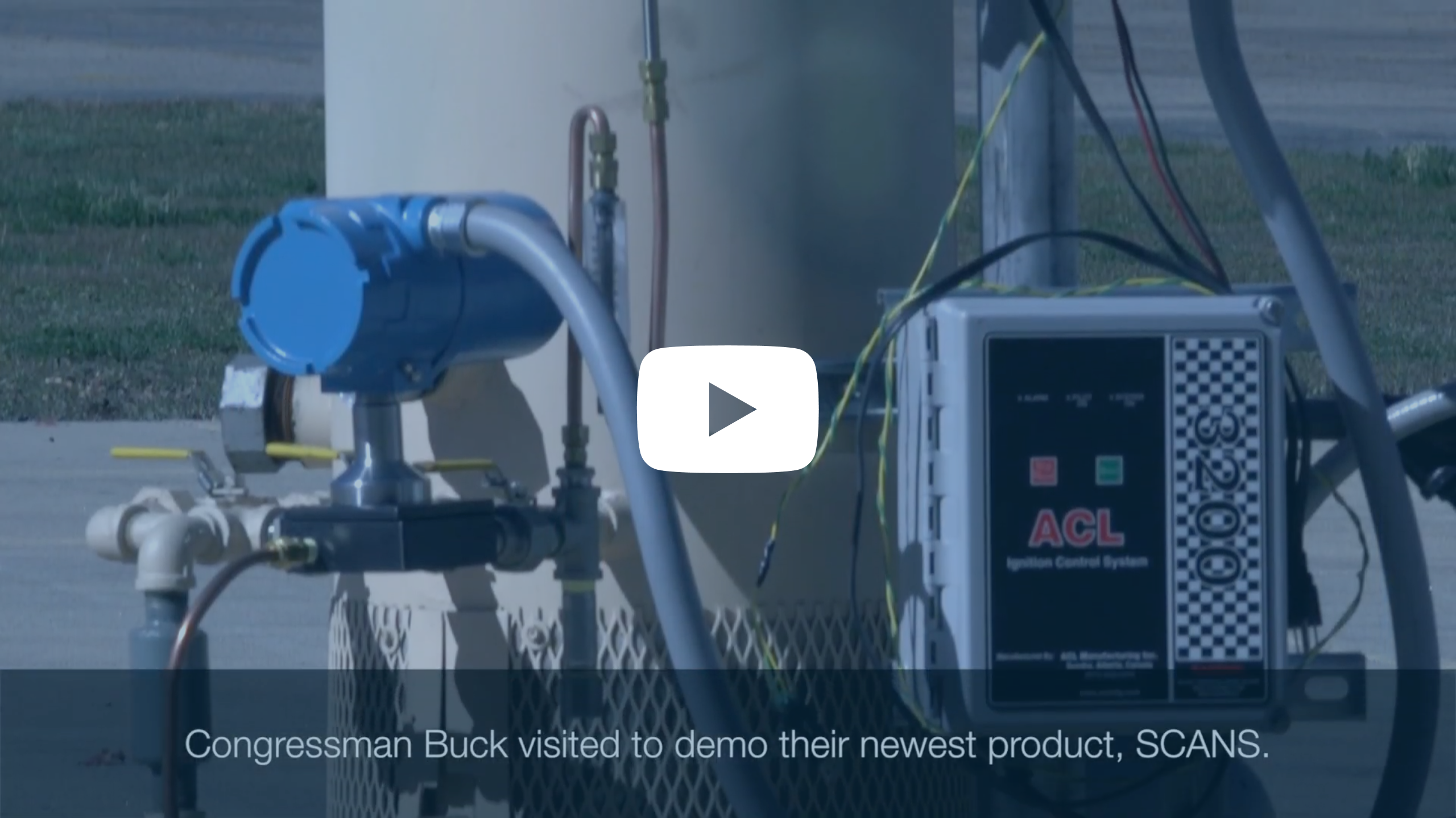 Congressman Buck visits MSS to review SCANS product - Video